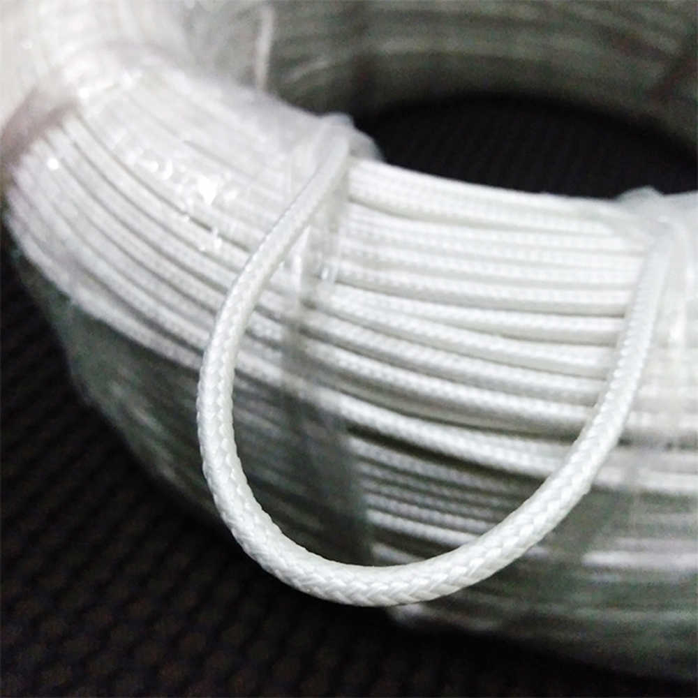 medium resolution of  50meters 20awg ul1332 awm silicone braided wire teflon wire high temperature line insulating flame retardant