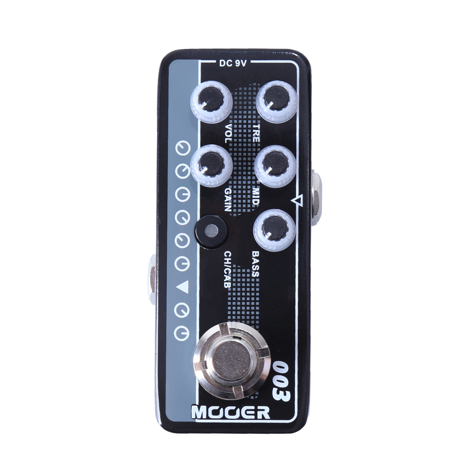 MOOER 003 Power-Zone Digital Preamp  High quality dual channel preamp  Independent 3 band EQ