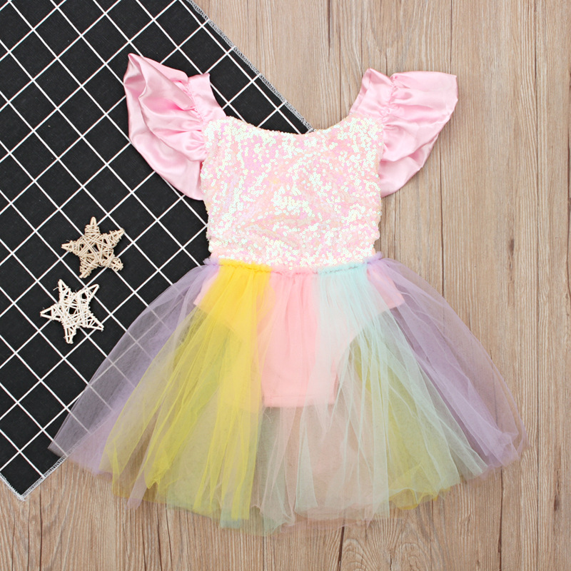 Girls' Clothing Dresses Kids Dresses For Girls Children Unicorn Birthday Dress Clothes Princess Dress Costume For 2 3 4 5 6 7 8 9 10 Age Girls Dresses Sale Overall Discount 50-70%