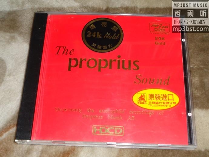 群星 - 《宝碟之声 The Proprius Sound》FIM一听钟情系列(24K Gold HDCD)[WAV]