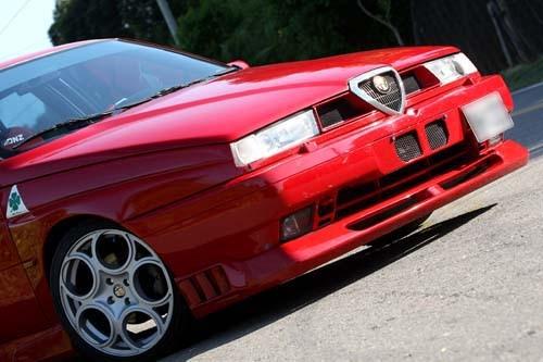 Alfa Romeo quatrefoil green delta Car Side Fender Emblem Badge - Accesorios de interior de coche - foto 4