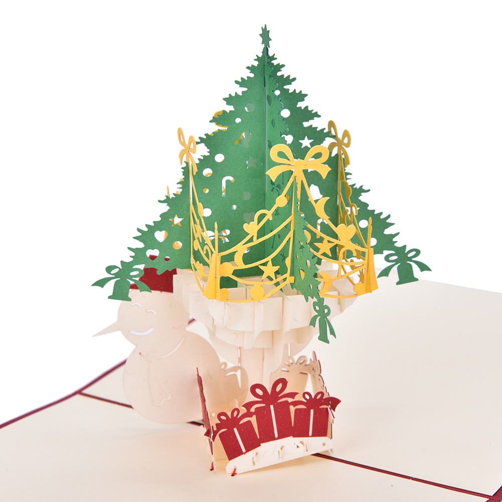 3d laser cut pop up paper handmade custom greeting cards christmas 3d laser cut pop up paper handmade custom greeting cards christmas gifts merry christmas tree thank you card vintage in cards invitations from home m4hsunfo