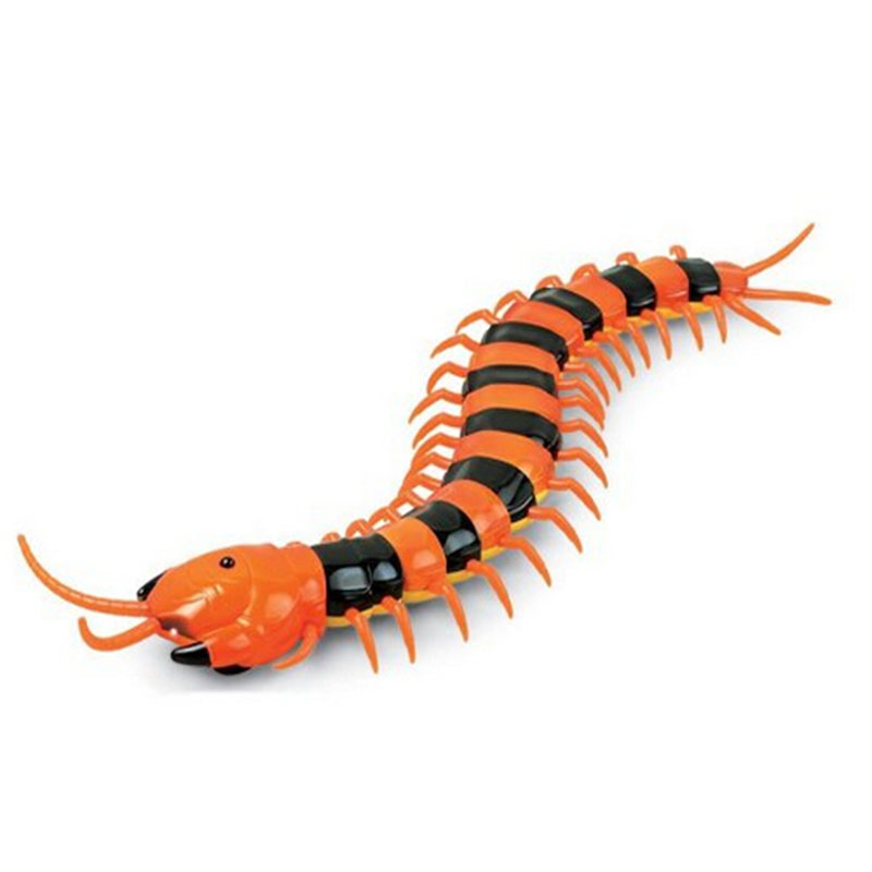 Infrared Remote Control RC toys Centipede Scolopendra Creepy-crawly Toys with USB For Children Remote Control Centipede toys цена 2017