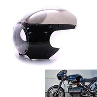 New Arrived Motorcycle Black 5 3/4 Cafe Racer Headlight Fairing For Sportster 883 1200 48 72 Dyna