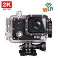 Бесплатная Доставка! Оригинал GitUP Git2 Wi-Fi Камера Action Sports 2 К 1080 P 60fps Full HD Для Sony IMX206 16MP Датчик Поддержка G-Sensor