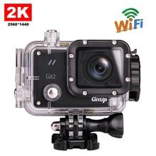 Envío libre!! original gitup git2 wifi divierte la cámara 2 k 1080 p 60fps full hd para sony imx206 16mp sensor g-sensor