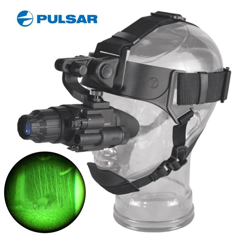 PulsarGS1x20 táctico gafas de visión nocturna de caza de monocular nachtsicht vinoculares visión nocturna tactico montaje de caza