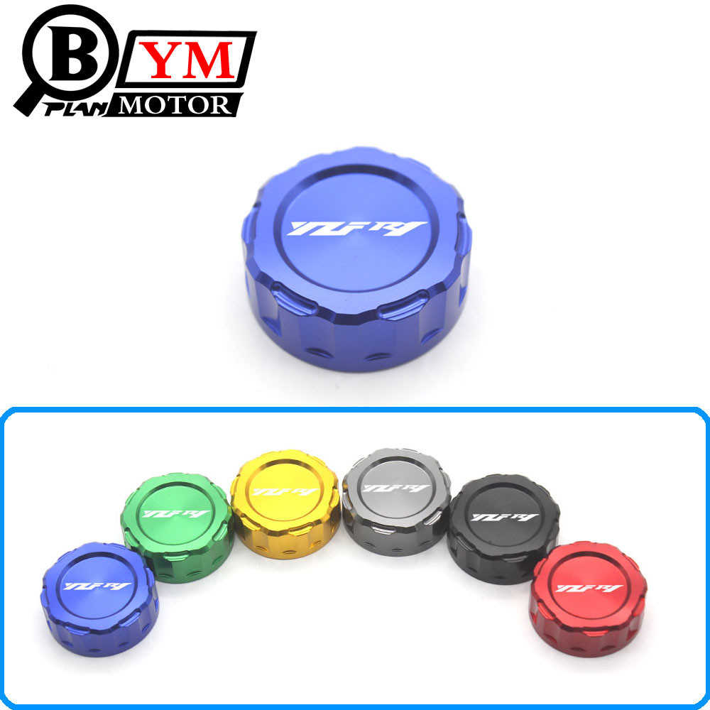 7 Color Motorcycle Accessories CNC Aluminum Rear Brake Fluid Reservoir Cover Cap For YAMAHA YZF R1 2009-2014 10 2011 2012 2013 for yamaha yzf r25 r3 yzf r3 yzf r25 2014 2015 motorcycle accessories rear brake fluid reservoir cover cap cnc aluminum