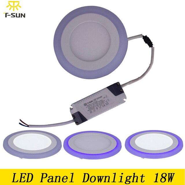 T SUNRISE LED panel licht 18 Watt LED deckenleuchten badezimmer ...
