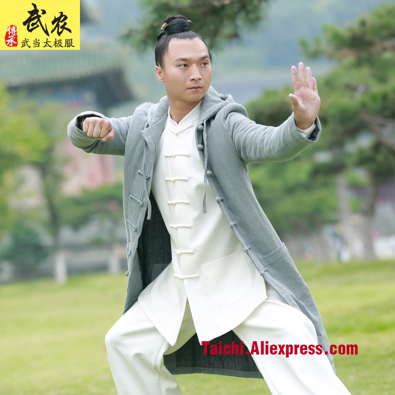 martial art Tai chi  uniform   men and women clothes thicker winter robe tai chi clothing
