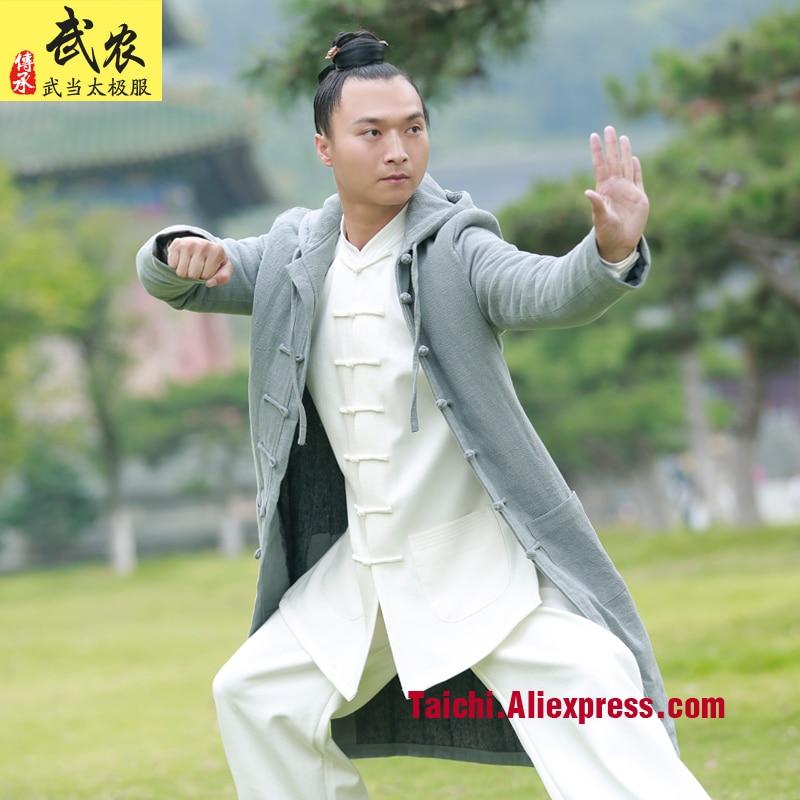 Martial Art Tai Chi  Uniform   Men And Women Clothes Thicker Winter Robe Tai Chi Clothing
