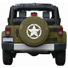 50cm Big Stickers Cars Army Star Sticker Distressed Decal for Jeep Vinyl Military Hood Fits Most Vehicles