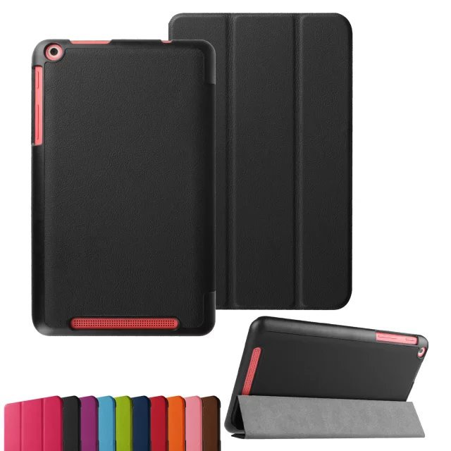 Ultra Slim Magnetic Luxury Folio Stand Custer Leather Case Sleep Smart Sleeve Cover For Acer Iconia One 8 B1-820 B1 820 8 inch