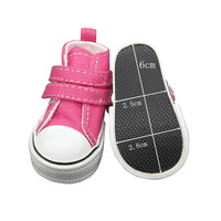 Canvas Shoes For Paola Reina Doll Fashion Mini Toy Gym Shoes For Tilda 1 3 Bjd