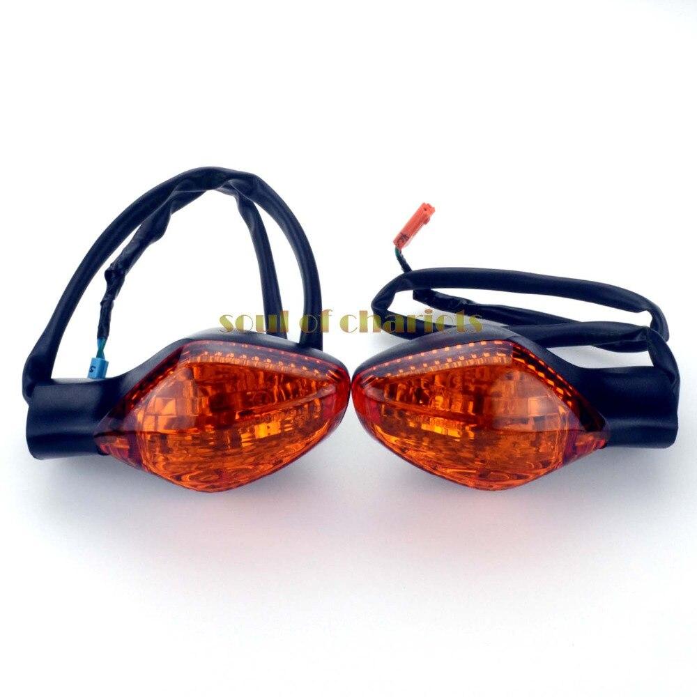 For HONDA NC700 S/X/D 12-13, NC750 S/X/D CTX700 N/DCT 14-17 New Front Turn Signal Indicator Light Blinker Lamp 3 Wires