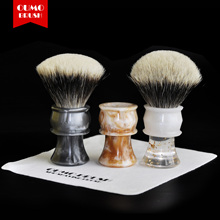 OUMO BRUSH-2017/9/5 Art shaving brush with SHD Manchuria badger knot gel city 26MM