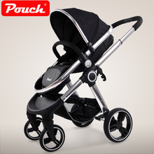 Pouch Baby Stroller High Landscape  Trolley Can Be Sleeping two-ways Child Trolley