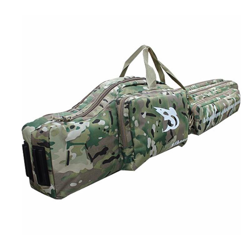 WOLD ENMEY 47 font b Tactical b font Dual 1 2m Hunting Rifle Gun Slip Carrying