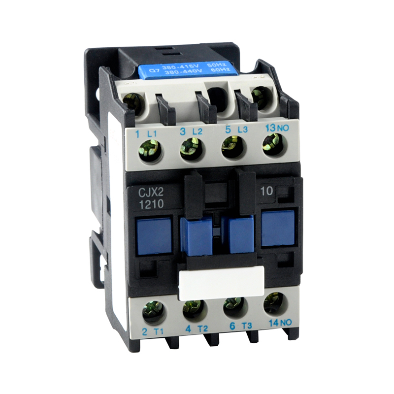 цена на ELECALL CJX2-1210/ (LC1-D) AC 12A Motor Magnetic Contactor 3 phase 3P 3 Pole 1NO 220V 380V Coil Volt CJX2 Contacts Relay