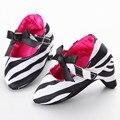 6 Cores Venda Quente Do Bebê Do Partido Dos Saltos Altos Mocassins Sapatos Da Criança Infantis Prewalker Meninas Princesa Primeiro Walkers Newborn Para Fotos