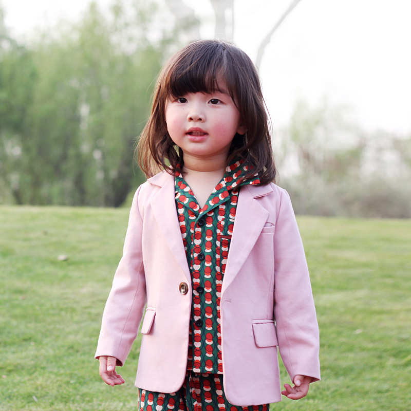 2019 summer girls clothes suit toddler kids clothing girls clothing sets stripe dress girls fashion outfits matching suit blazer in Clothing Sets from Mother Kids