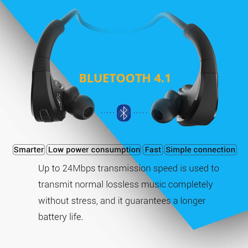 FiiDiil スポーツの Bluetooth イヤホン IPX5 防水ワイヤレスヘッドセット耳フックヘッドホンステレオオーディオとマイク
