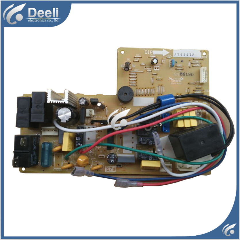 95% new Original for air conditioning Computer board A744418 circuit board