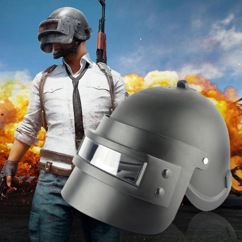 2019 Fashion <font><b>Helmet</b></font> Hat Cool Game <font><b>PUBG</b></font> <font><b>Level</b></font> <font><b>3</b></font> <font><b>Helmet</b></font> Cosplay Props Head Adult Women Men Cap Cosplay Equipment <font><b>Helmet</b></font> Party Gift image