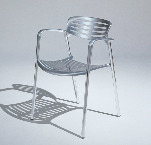 Toledo aluminum chair ribs chair dining chair outdoor leisure chair