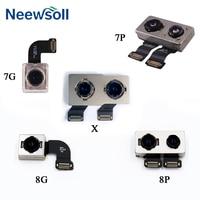 1pcs Back Rear Camera Flex Cable For iPhone 7 7Plus 8 8plus X Main Camera Module Flex Ribbon Replacement Parts