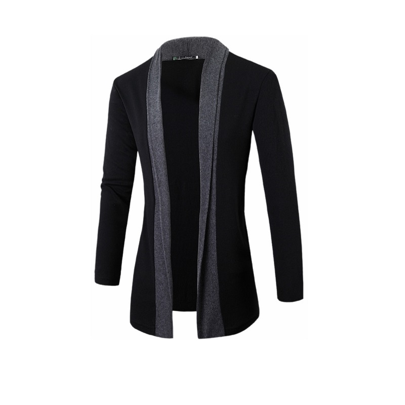 Men's Cardigan Casual Open Front Cozy Fashion Long Sleeve Knitwear