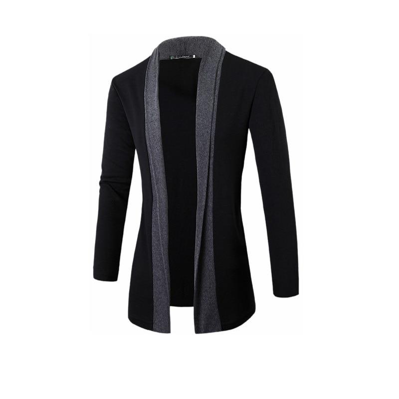 Men's Cardigan Casual Open Front Cozy Fashion Long Sleeve Knitwear