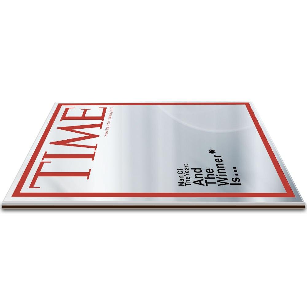 Time Magazine Cover Spiegel Man van het Jaar Opknoping Spiegel voor in jouw Mancave Thuis Bar Muur Decor  1