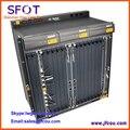 Uplink HU1A Оригинал Fiberhome AN5516-01 GPON OLT оборудование, с одной 8-портовый GPON доска, GC8B, и 8 SFP Модуль