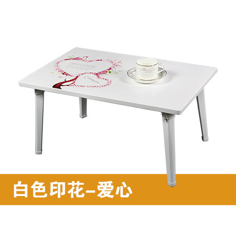 Simple Bed With A Laptop Table Folding Table Lazy Little Book Wood Computer  Desk Dinner Table In Computer Desks From Furniture On Aliexpress.com |  Alibaba ...