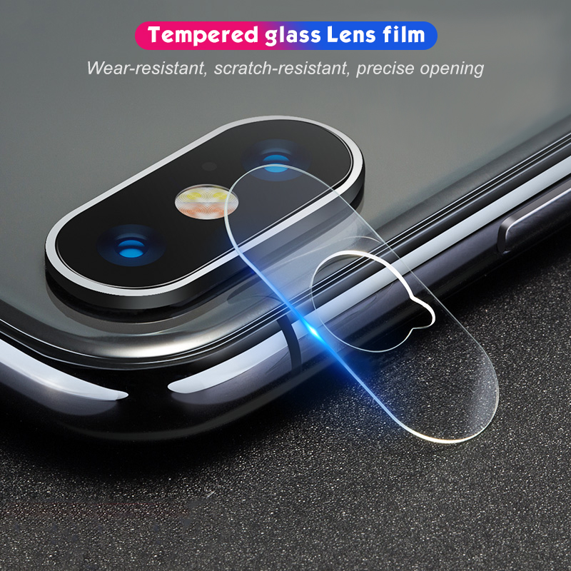 Back Camera Lens Tempered Glass For iPhone XS MAX XR XS Lens Screen Protector Film Cover For iPhone 8 X 7 6.1 6.5 5.8 inch 2019(China)