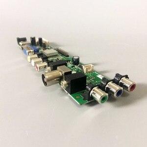 Универсальная плата для ЖК-драйверов DS.D3663LUA.A81.2.PA V56 V59, поддержка ТВ-панели с поддержкой DVB-T2 + 7 клавишных выключателей + ИК-3663
