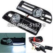 Dongzhen LED Fog Light Day Running Lamp Front Bumper Grill For 99-04 VW Jetta Bora Mk4