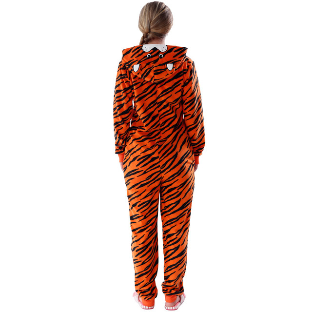 Plus Size Fleece Tiger Pyjamas Women Stitch Onesie Animal Costumes Jumpsuits Couple Coverall Pajamas Onesie For Adult Kingurumi