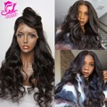 7A Brazilian Lacefront Wigs For Black Women Body Wave Full Lace Human Hair Wig With Baby Hair Glueless Full Lace Wigs Affordable