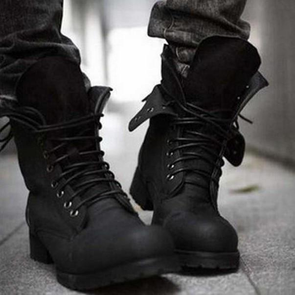 Boots Shoes Retro Combat boots Winter