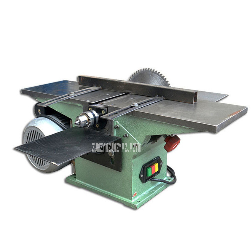 цена на MB150 Electric Wood Planer Saws Multifunctional Woodworking Table Planer Household Wood Saw Planer 220V 1500W 150mm 3900r/min