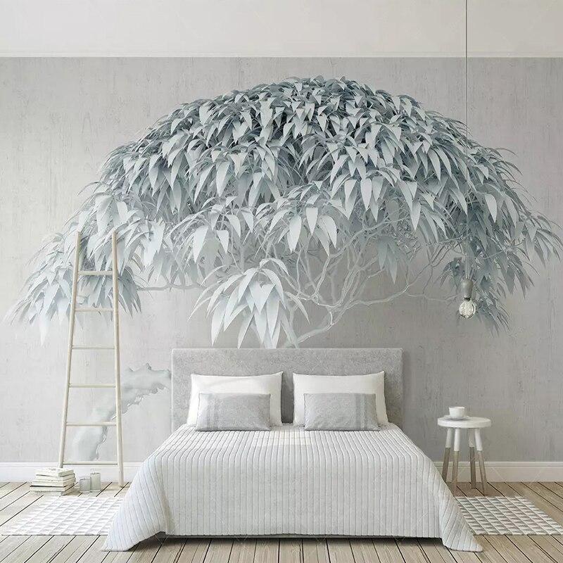 De murales papel 3D estéreo Arte Abstracto Pared de fotos pintura habitación dormitorio Fondo papel de pared para paredes 3 D Decoración Papel tapiz no tejido de estilo europeo papel tapiz clásico rollo púrpura/gris papel tapiz de lujo papel de pared floral papel de pared V1