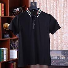 2019 Top Solid Regular Brand New Polo Shirt Men Cotton Short Sleeve Sportspolo Jerseys Chinese Stysle Camisa Polos Homme Biger