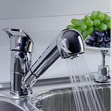 цена на Contemporary Chrome Solid Brass Water Kitchen Sink Faucet Tap ,Torneira Para De Cozinha Grifo Cocina