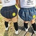 2016 verão calças de Cowboy pp calças do bebê masculino e feminino cuecas meninos meninas roupas calças curtas
