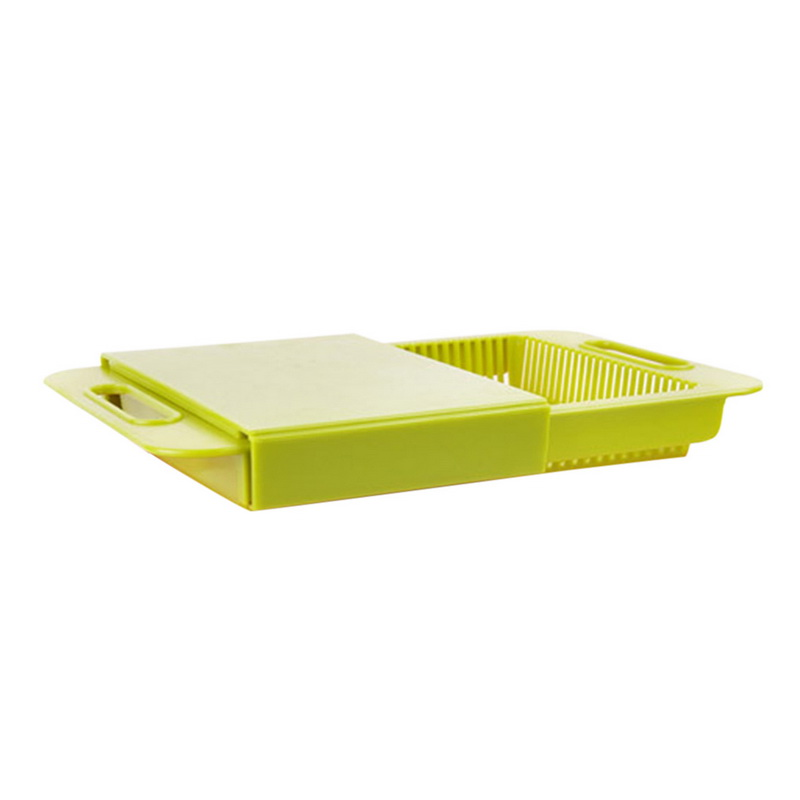 Chopping For Kitchen Block Sinks Drain Basket Cutting Board Meat Vegetable Fruit Multifunction Cutting Board(China)