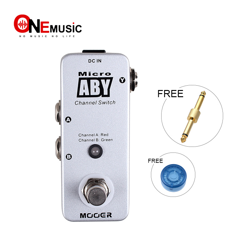 buy mooer micro aby channel switch guitar pedal the signal path can flow from a. Black Bedroom Furniture Sets. Home Design Ideas