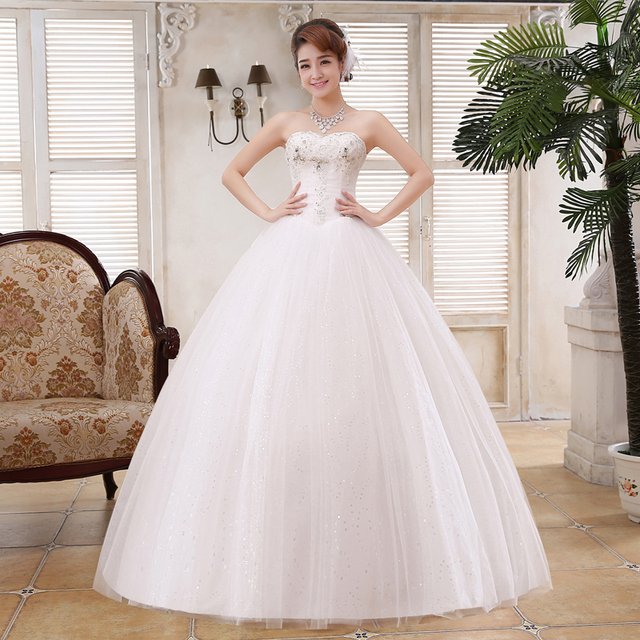 LYGH54The New Winter 2016 Korean Gown Dress Manufacturers Selling And Set Auger Bride Wedding