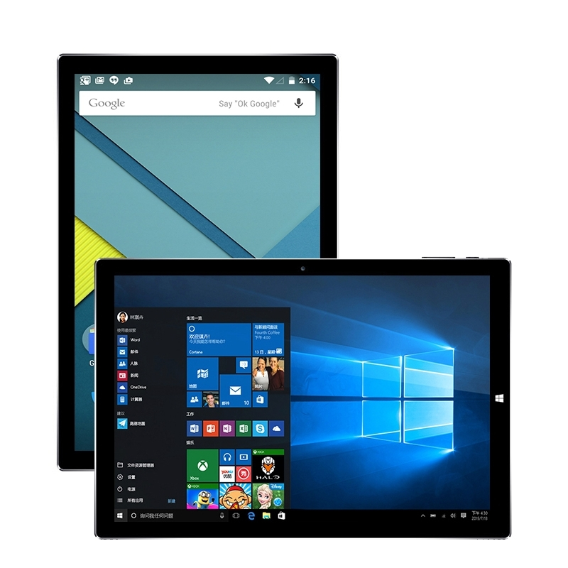 Original Teclast Tbook 10 S 10.1 inch Tablet PC Intel Cherry Trail X5 Windows 10 Home + Android 5.1 Dual OS tablets 4GB 64GB OTG original onda obook 20 plus 10 1 inch tablets windows 10 home remix os 2 0 android 5 1 dual os intel x5 z8350 quad core 4gb 64gb